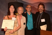 Alisa Hauser, Ian Fraser, Michael Levine and Bob Christianson