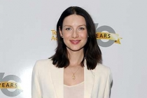 Actor Catriona Balfe arrives at the Outlander: From Scotland to Paris event, April 5, 2016, at the NYU Skirball Center for the Performing Arts in New York City.