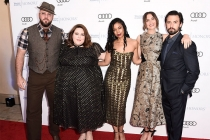 Chris Sullivan, Chrissy Metz, Susan Kelechi Watson,  Mandy Moore, and Milo Ventimiglia at the 2017 Television Academy Honors at the Montage Hotel on Thursday, June 8, 2017, in Beverly Hills, California.