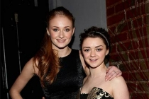 Sophie Turner and Maisie Williams at An Evening with Game of Thrones.