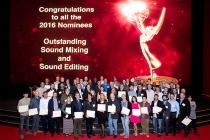 The 2016 nominees at the Sound Editing and Sound Mixing nominee reception, September 8, 2016 at the Saban Media Center in North Hollywood, California.