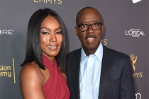 Angela Bassett and Courtney B. Vance at the Performers Nominee Reception, September 16, 2016 at the Pacific Design Center, West Hollywood, California.