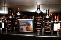 Beaulieu Vineyard wine selections at the Television Academy's 66th Emmy Awards Governors Ball Sneak Peek press preview.