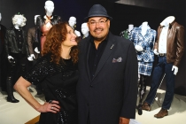 Beth Grant and nominee Salvador Perez of The Mindy Project at The 9th Annual Outstanding Art of Television Costume Design Exhibition at the FIDM Museum & Galleries, Saturday, July 18, 2015, in Los Angeles.