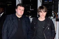 John Bradley-West and Isaac Hempstead Wright at An Evening with Game of Thrones.