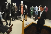 Television Academy chairman and CEO Bruce Rosenblum peruses the exhibits at The 9th Annual Outstanding Art of Television Costume Design Exhibition at the FIDM Museum & Galleries, Saturday, July 18, 2015, in Los Angeles.