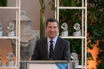 Television Academy chairman and CEO Bruce Rosenblum speaks at the awards presentation at the Eighth Annual Television Academy Honors, May 27 at the Montage Beverly Hills.