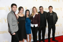 The cast of The Fosters on the red carpet at An Evening with The Fosters in Los Angeles, California.