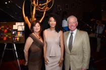 Sequoia Productions event producer Cheryl Cecchetto, featured Governors Ball performer Judith Hill and Governors Ball committee chair Russ Patrick.