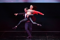 """Choreography by Rich + Tone Talauega at """"Whose Dance Is It Anyway?"""" February 16, 2017, at the Saban Media Center in North Nollywood, California."""