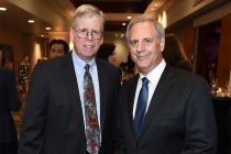 69th Engineering Emmy Awards committee member Chris Cookson and Television Academy Foundation board member Kevin Hamburger at the 69th Engineering Emmy Awards at the Loews Hollywood Hotel on Wednesday, October 25, 2017 in Hollywood, California.