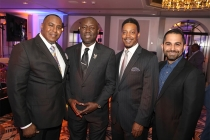 Christopher O'Neal, Benjamin Crump, Cliff Jones, Farhoud Meybodi, 12th Annual Television Academy Honors