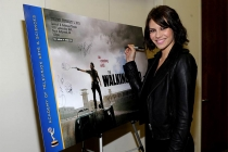 Lauren Cohan at An Evening with The Walking Dead.