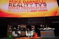 Andy Cohen, Mike Darnell, and Gail Berman at Mike Darnell: Reality TV's Great Provocateur at the Saban Media Center in North Hollywood, California, March 29, 2017.