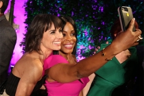 Constance Zimmer and Niecy Nash take a selfie at the Performers Peer Group Celebration, August 22, 2016, at the Montage Beverly Hills in Beverly Hills, California.