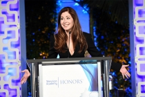 Dana Delany speaks at the 2017 Television Academy Honors at the Montage Hotel on Thursday, June 8, 2017, in Beverly Hills, California.