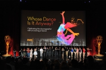 "Dancers take the stage at ""Whose Dance Is It Anyway?"" February 16, 2017, at the Saban Media Center in North Nollywood, California."