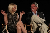 Claire Danes and executive producer Alex Gansa at An Evening with Homeland.