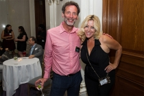 Television Academy governor David Kleeman and Ariane Von Kamp at Networking Night Out NYC! at the St. Regis Hotel in New York City, June 12, 2015.