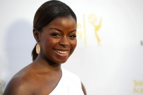 Erica Tazel of Justified arrives at Dynamic and Diverse: A 66th Emmy Awards Celebration of Diversity in the NoHo Arts District.