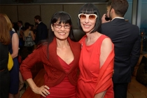 Nancye Ferguson and Lynda Kahn at the Motion and Title Design Nominee Reception in West Hollywood, California.