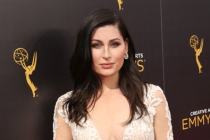 Trace Lysette on the red carpet at the 2016 Creative Arts Emmys.