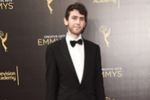 Adam Armitage on the red carpet at the 2016 Creative Arts Emmys.