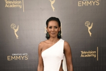 Mel B arrives on the red carpet at the 2016 Creative Arts Emmys.