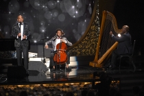 Sons of Serendip perform at the 2016 Creative Arts Emmys.