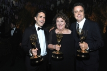 Mac Quayle, Margo Martindale and Sean P. Callery at the 2016 Creative Arts Ball.