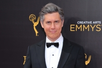 Chris Parnell on the red carpet at the 2016 Creative Arts Emmys.
