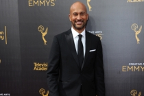 Keegan-Michael Key on the red carpet at the 2016 Creative Arts Emmys.