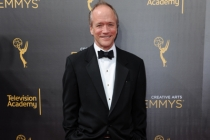Douglas McGrath on the red carpet at the 2016 Creative Arts Emmys.