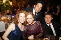 Ursula Whittaker, from left, Yvonne Boismier Phillips, Oscar Nunez and Lou Diamond Phillips at the 2016 Creative Arts Ball.