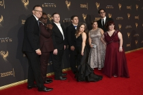 The Born This Way team on the red carpet at the 2017 Creative Arts Emmys.
