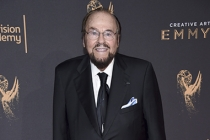James Lipton on the red carpet at the 2017 Creative Arts Emmys.