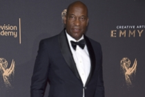 John Singleton on the red carpet at the 2017 Creative Arts Emmys.