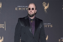 Chris Sullivan on the red carpet at the 2017 Creative Arts Emmys.