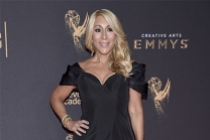 Lori Greiner on the red carpet at the 2017 Creative Arts Emmys.