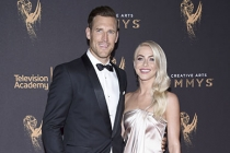 Julianne Hough and Brooks Laich on the red carpet at the 2017 Creative Arts Emmys.