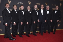 The Archer team on the red carpet at the 2017 Creative Arts Emmys.