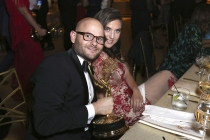 Michael Kaplan and guest at the 2017 Creative Arts Ball.