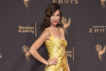 Jama Williamson on the red carpet at the 2017 Crearive Arts Emmys.