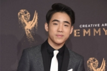 Lance Lim on the red carpet at the 2017 Creative Arts Emmys.