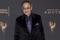 James Lew on the red carpet at the 2017 Creative Arts Emmys.