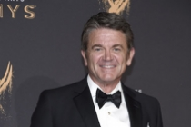 John Michael Higgins on the red carpet at the 2017 Creative Arts Emmys.