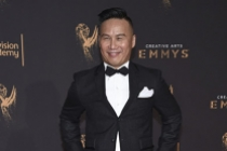 BD Wong on the red carpet at the 2017 Creative Arts Emmys.