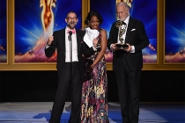 Brian A. Kates, Tichina Arnold, and Gerald McRaney