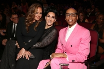 Leah Remini, Michelle Visage and RuPaul Charles