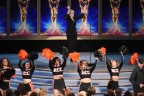 "Jane Lynch, The Riverside Community College ""RCC"" Cheerleaders"